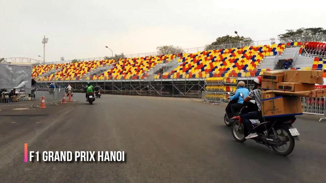 Drive on F1 Hanoi Racetrack