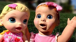 Talking Doll - Playing with kids