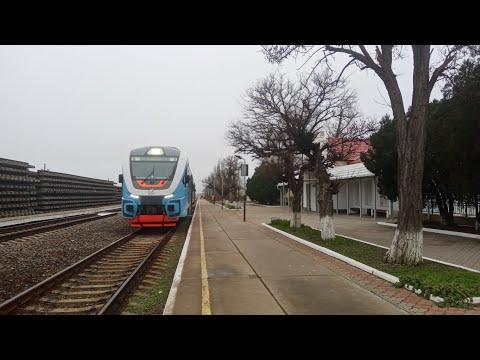 Станция Армянск, железнодорожный мост через Северо - Крымский канал, перегон Армянск - Вадим