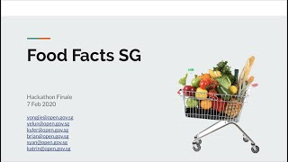 OGP Hackathon 2020 - Food Facts SG