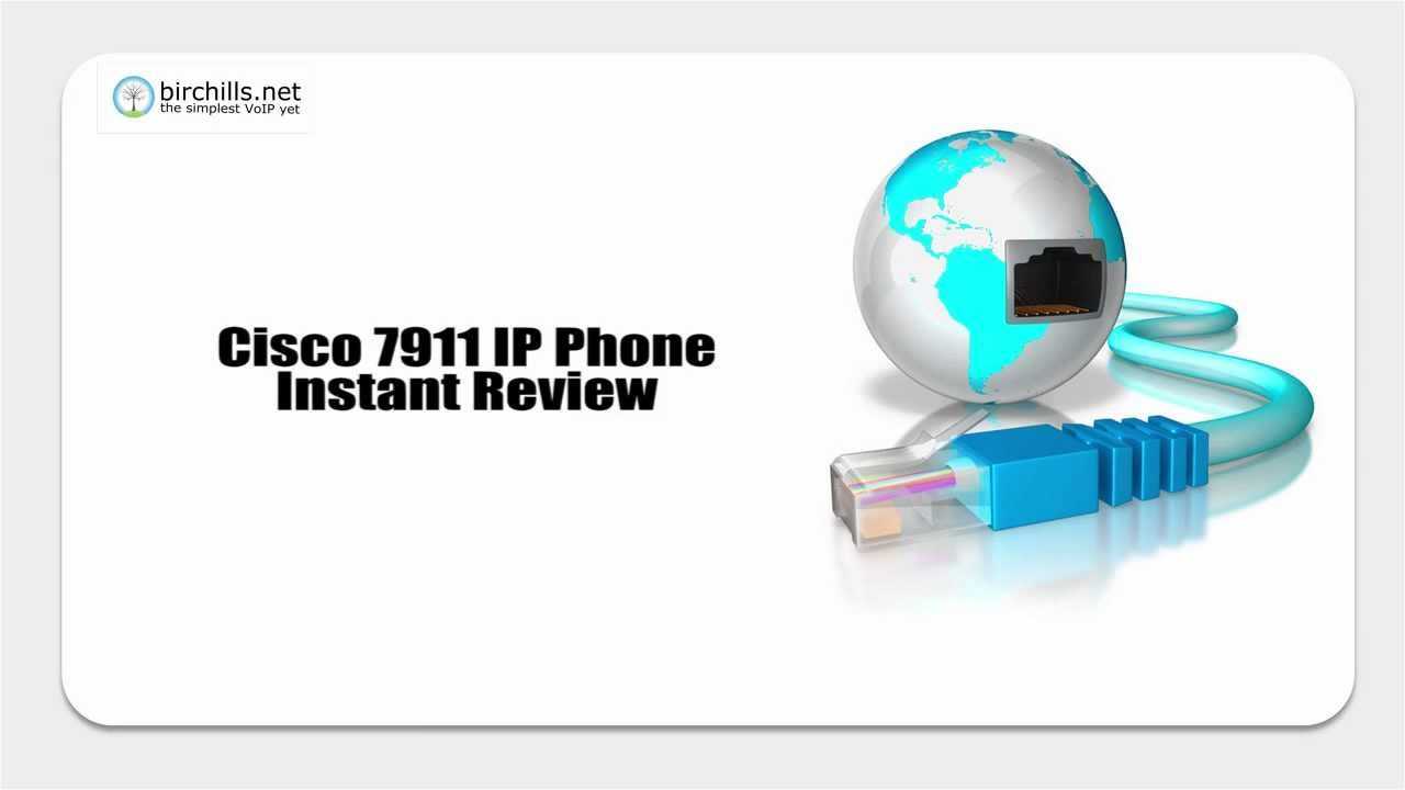 Cisco 7911 Review - A Serious SIP Phone For Serious Business