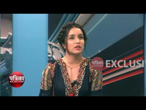 Arjun Kapoor & Shraddha Kapoor Exclusive Interview at Patrika TV