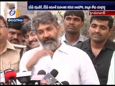 Bahubali2 Piracy Case | SS Rajamouli & Producer Meet CCS police Over to Know Case Details