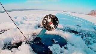 Рыбалка на жерлицы на озере Кисегач 5 12 19
