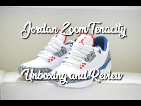 f2fcade058f Jordan Zoom Tenacity 88 True Blue - Unboxing and Review - YouTube
