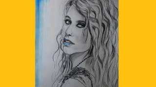 Kesha/ Ke$ha Speed Drawing