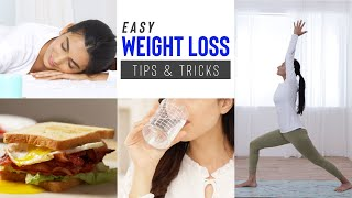 A few lifestyle changes can have huge impact on your weight loss journey! so go ahead, follow these easy and effective tips tricks to see difference!...