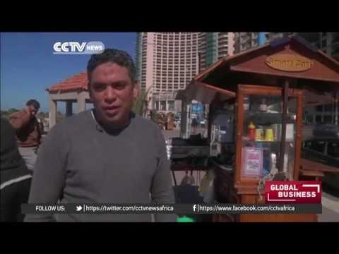 17950 rizne energy CCTV Afrique Vendors favour solar powered carts as energy crisis persists