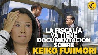 La fiscalía ya tiene documentación sobre Keiko Fujimori