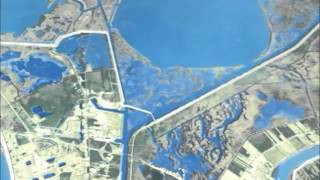 Hurricane and Storm Damage Risk Reduction System (HSDRRS) Flyover Video