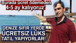 Antalya'da Denize Sıfır Obalarda Ücretsiz Lüks Tatil