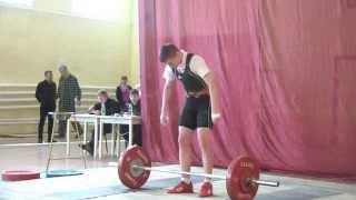 Шутилов Иван, 14 лет. Рывок 80 кг вес. кат. 69 кг