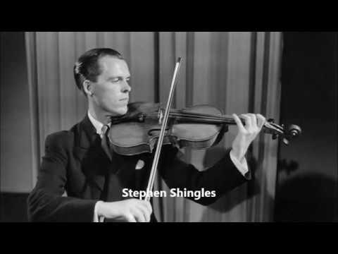 G.P. Telemann Viola Concerto in G major, Stephen Shingles / Neville Marriner