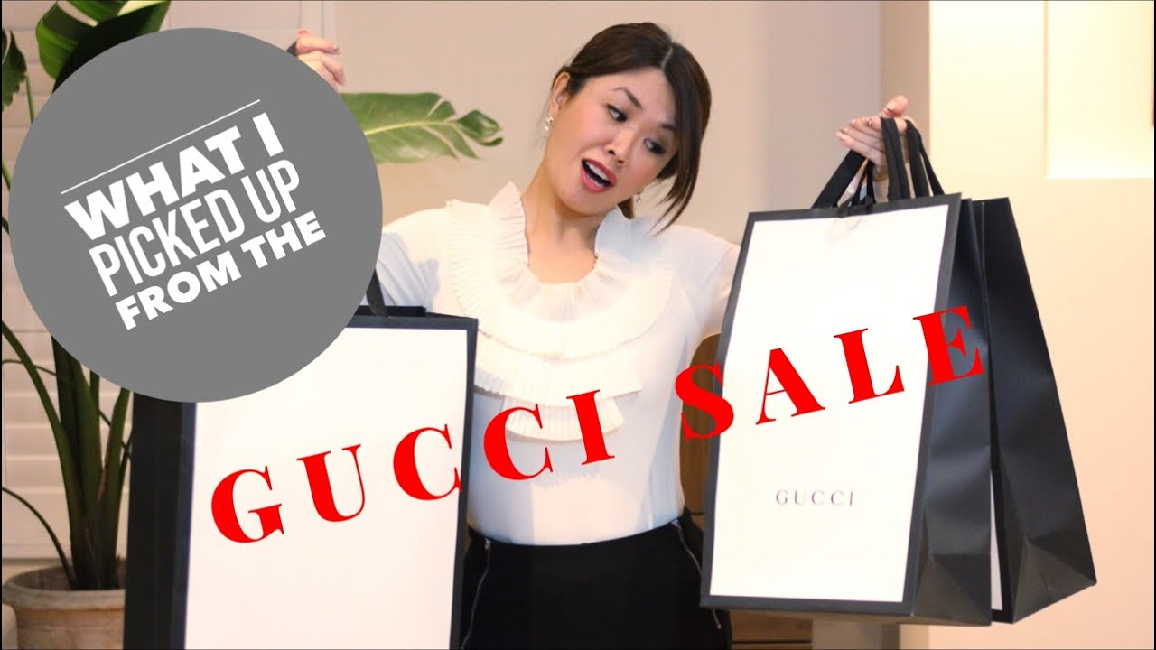 2223d27990 Surprise Gucci Haul & Unboxing | What I picked up from the SALE ...