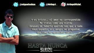 Subze - Hasta nunca (+Letra)