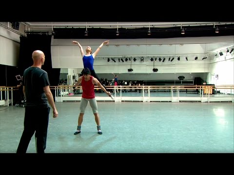 Wayne McGregor's Raven Girl in rehearsal – World Ballet Day