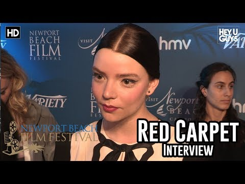 Anya Taylor-Joy on X-Men Mutants & Glass Sequel  - Newport Beach Film Festival
