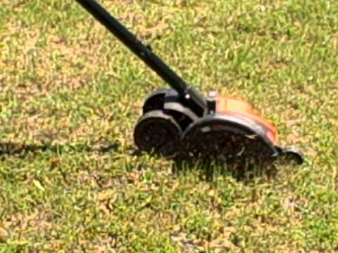 Tool To Bury Wire | Black Decker Le750 Trencher Trenching To Install Buried Radials