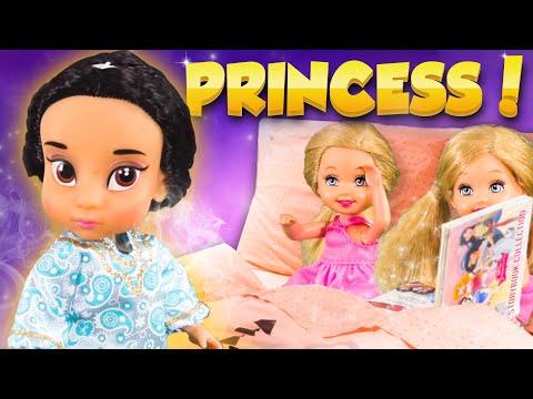 Barbie - Disney Princess Storybook Surprise  Ep210