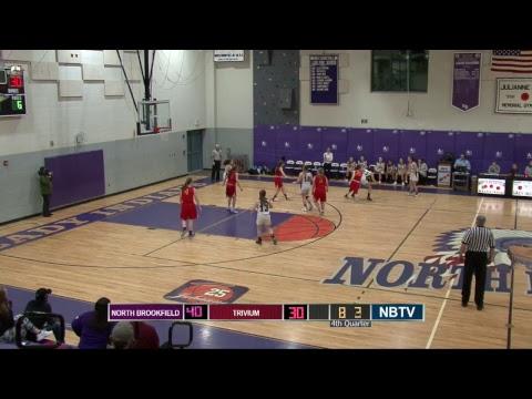 North Brookfield Girls Varsity Basketball Vs Trivium
