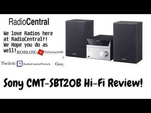 Sony CMT-SBT20B Hi-Fi Review w/ Enime Girl