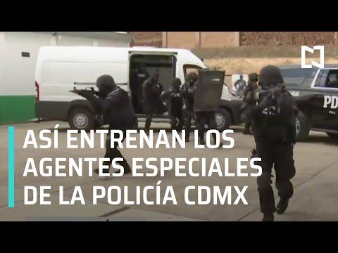 Entrenamiento de los agentes especiales de la policía de CDMX - Hora 21