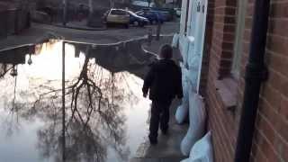 Abingdon Floods 2014 Thames Street