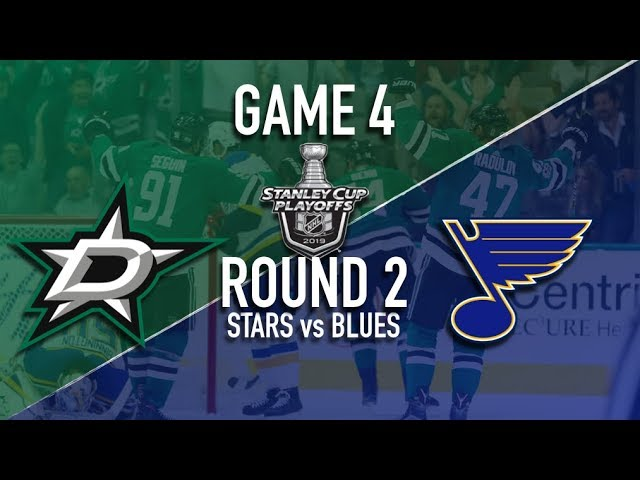 Dallas Stars vs St Louis Blues | Game 4 | Round 2 Stanley Cup Playoffs 2019