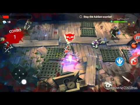 Dungeon Hunter 5: Part 1 Nice Defensive Stronghold