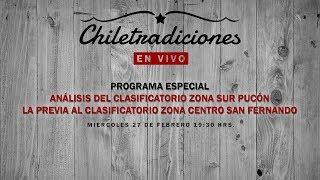 Programa Especial: Análisis del Clasificatorio Zona Sur y la previa al Clasificatorio Zona Centro