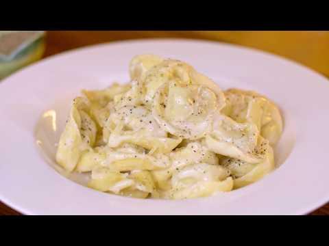 Tortellini in a Creamy Parmesan Sauce