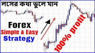 Forex Weekend Gap Trading || Simple & Easy Profit Forex Strategy || ফরেক্স এ লসের কথা ভুলে যান