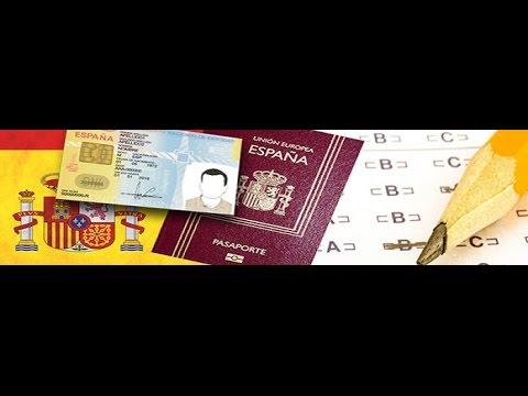 Spanish nationality exman in Urdu no,1