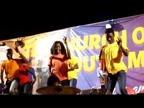 FRANCIS AMO's NGOOBA PRAISE Choreography @ The C.O.P National Youth All Night