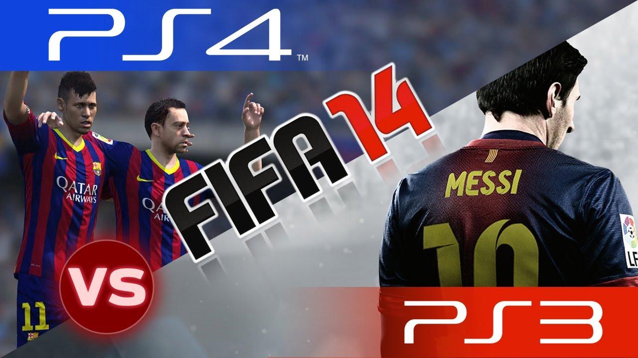 FIFA Comparisons: PS1/PS2/PS3/PS4 || 1996/2001/2008/2014 ... |Ps4 Graphics Vs Ps3 Fifa 14