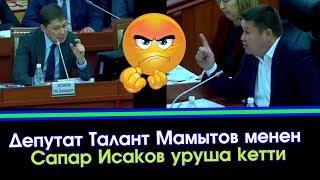 Талант Мамытов: Чече албайсыңарбы, Садыр Жапаровду алып келип койгула бир жумада чечип берет