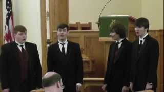 Phs Men's Quartet - Joshua Fit The Battle Of Jericho