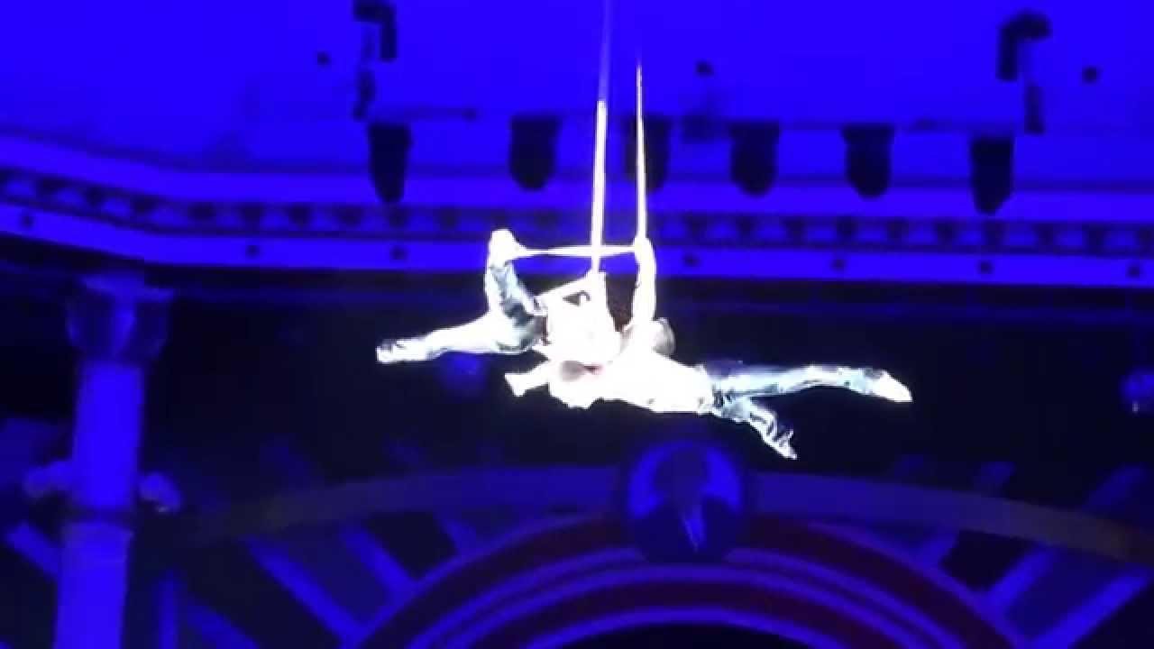 Мужской воздушный дуэт на ремнях с невероятными трюками   Aerial Straps, male duo Bronze Elephant