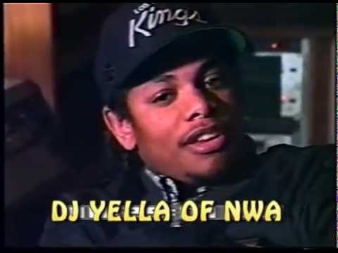 N.W.A Lost Footage pt.1 DJ YELLA of N.W.A