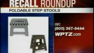 Recalls:  Foldable Step Stools Top This Week's List
