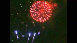 New Outdoor fireworks  vid Jeff Adams of Lantis Fireworks & Lasers 2013