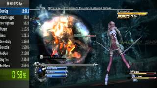 Final Fantasy 13-2 Any% Speedrun (PC) in 2:55:43