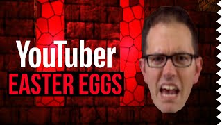 YouTuber Easter Eggs in Video Games! #2