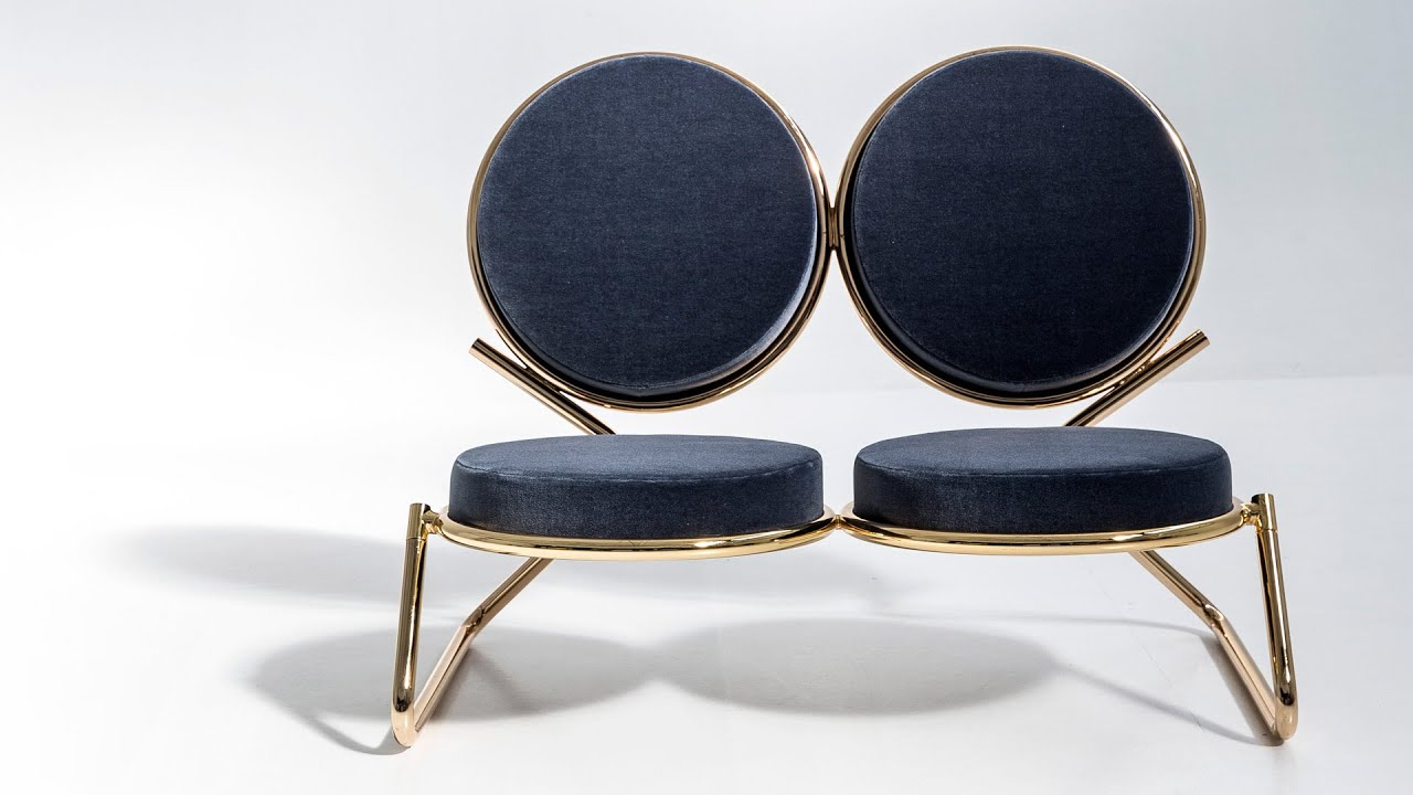 "David Adjaye s Double Zero chair for Moroso celebrates ""the power"