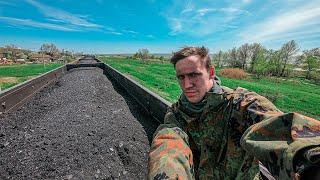 Путешествие на Чёрное море на грузовых поездах