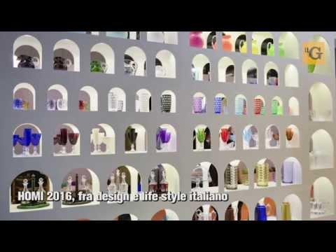 HOMI 2016, design e lifestyle italiano