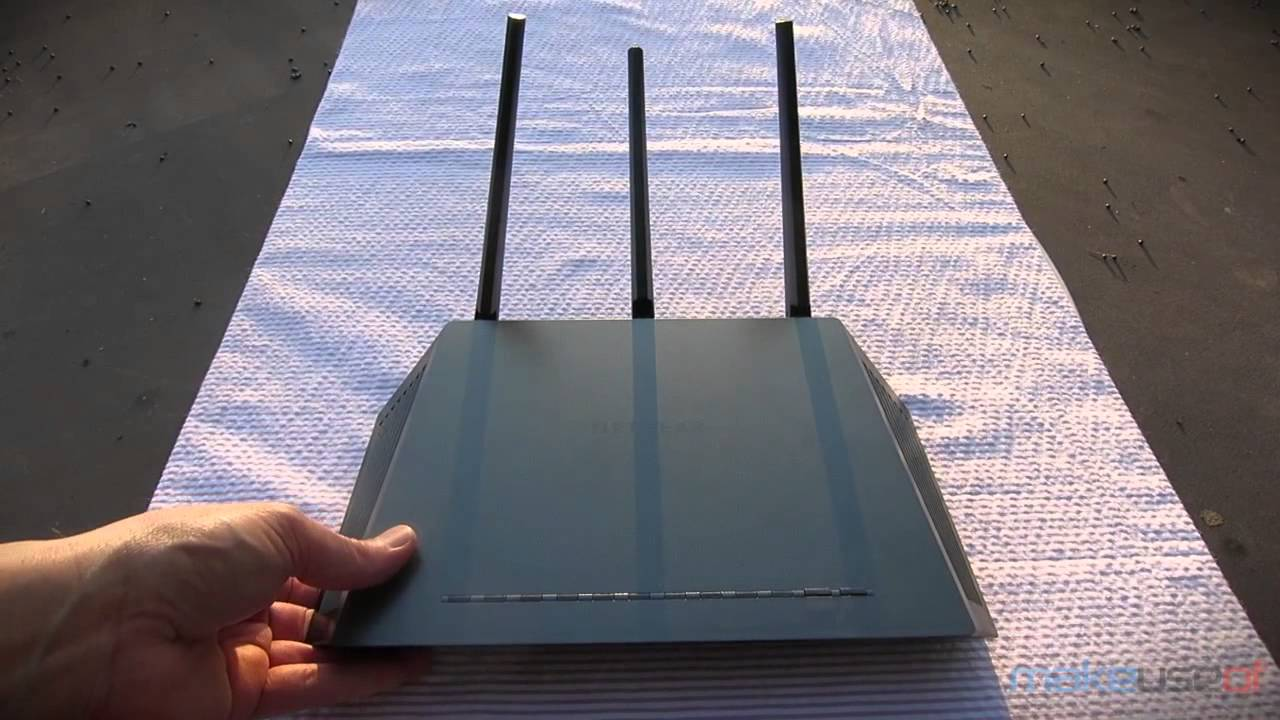 Netgear R7000 Nighthawk 802 11ac Wireless Router Review and