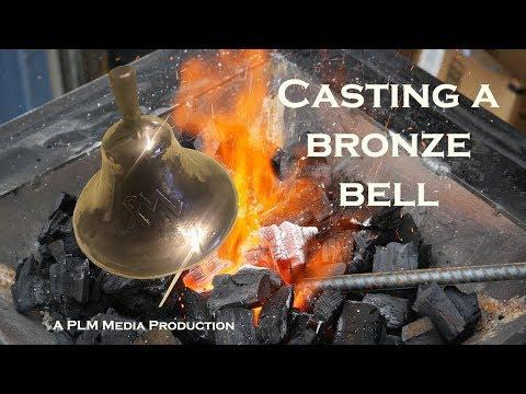Casting a bronze bell