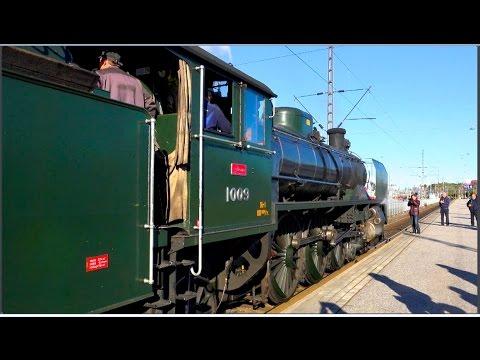 UKKO-PEKAN MATKASSA / 2015   •   Steam Locomotive Hr1 UKKO-PEKKA 1009  (4K orig.)