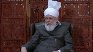 Huzur's favorite chapter from the Holy Qur'an?